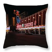 Las Vegas 1983 #5 Throw Pillow