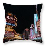 Las Vegas 1983 #6 Throw Pillow