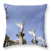 Las Vegas Angels Throw Pillow