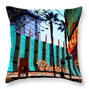 Las Vegas Lights II Throw Pillow