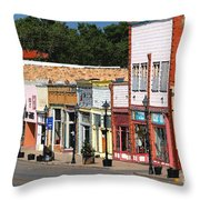 Las Vegas New Mexico Throw Pillow