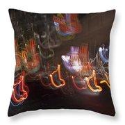 Las Vegas Strip 2222 Throw Pillow