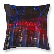 Las Vegas Strip 2302 Throw Pillow