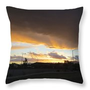 Las  Vegas  Sunset  2 Throw Pillow