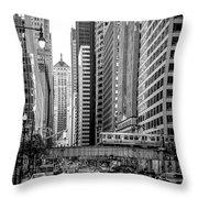 Lasalle Street Throw Pillow