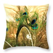Lash Line Throw Pillow