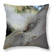 Lassen Volcanic Wilderness Throw Pillow by Christine Till