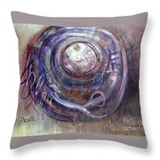 Lasso The Moon Throw Pillow