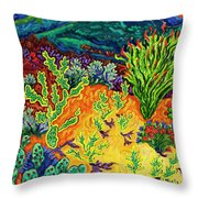 Last Dance Of The Day Throw Pillow