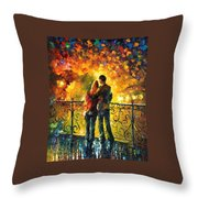 Last Date Throw Pillow