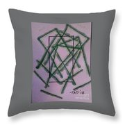 Last Exit Throw Pillow