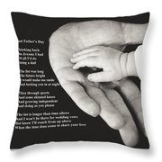 Last Father's Day Throw Pillow