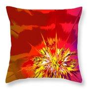 Last Flash Throw Pillow