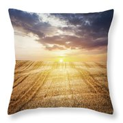 Last Glow Throw Pillow