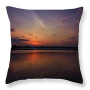 Last Glowing Ember Throw Pillow by Viviana Nadowski