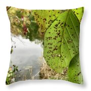 Last Goodbyes Throw Pillow