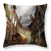 The Last Vagrant Throw Pillow