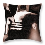 Last Light On The Old Chev Throw Pillow