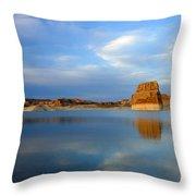 Last Light Over Lake Powell Throw Pillow