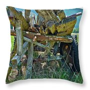 Last Load Throw Pillow
