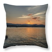 Last Moment Of The Day Throw Pillow