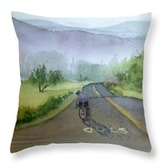 Last Of The Day Temescal Canyon Throw Pillow