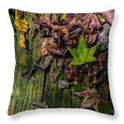 Last Of The Living Throw Pillow