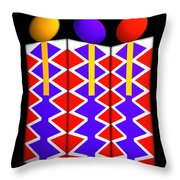 Last Of The Mohicans Throw Pillow