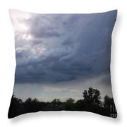 Last Of The Thunder Dome Throw Pillow