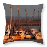 Last Ones In - First Ones Out Throw Pillow