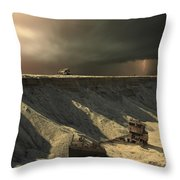 Last Outpost Throw Pillow