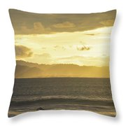 Last Paddle Throw Pillow