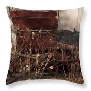 Last Ride Throw Pillow