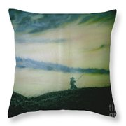 Last Samurai Throw Pillow