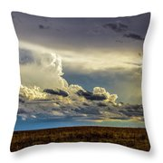 Last Storm Chase Of 2017 001 Throw Pillow