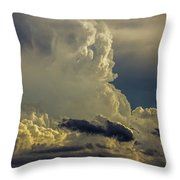 Last Storm Chase Of 2017 002 Throw Pillow