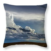 Last Storm Chase Of 2017 004 Throw Pillow