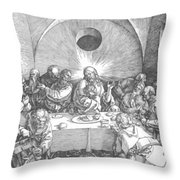 Last Supper 1510 Throw Pillow