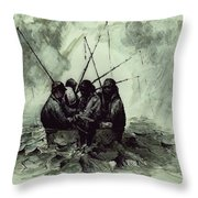 Last Time Out Throw Pillow