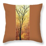 Last Tree Standing By Madart Throw Pillow
