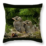Last Two Throw Pillow