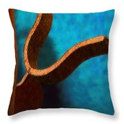 Latch Throw Pillow