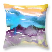 Late Afternoon 12 Throw Pillow