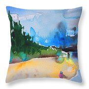 Late Afternoon 17 Throw Pillow