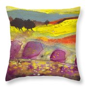 Late Afternoon 18 Throw Pillow