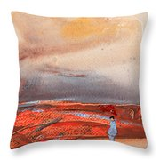 Late Afternoon 34 Throw Pillow