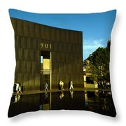 Late Afternoon At The East Wall.okcnm.2 Throw Pillow