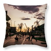 Late Afternoon. Throw Pillow