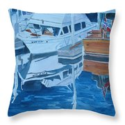 Late Afternoon Reflections Throw Pillow by Jenny Armitage