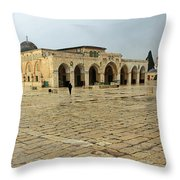 Late For Prayer Throw Pillow